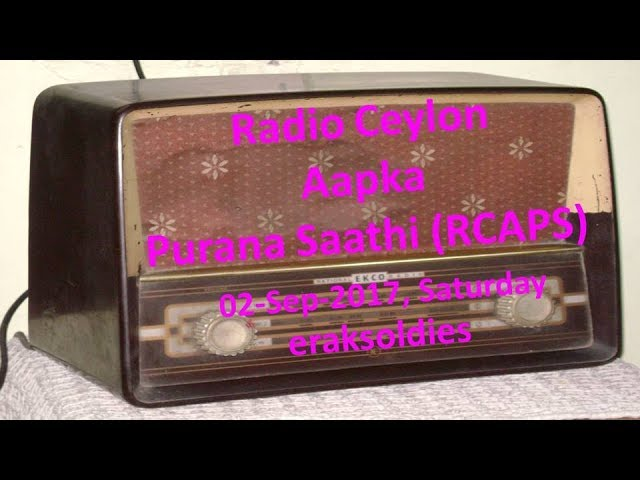Radio Ceylon 02-09-2017Saturday