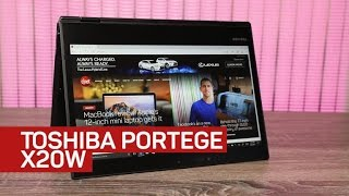 Toshiba's stylish Portege X20W-D 2-in-1 is open for business