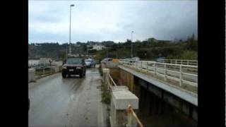 CASTELLAMMARE DEL GOLFO. Località GUIDALOCA - Alluvione 27 aprile 2011