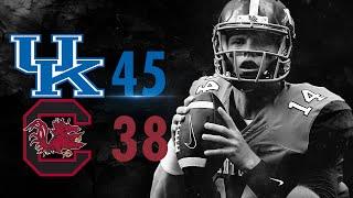 Kentucky Wildcats TV: Football vs South Carolina