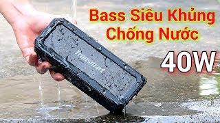 Trên Tay Loa Blutooth Chống Nước Bass Siêu Khủng