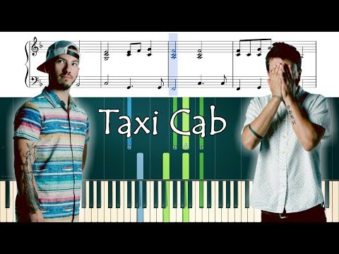 How to play the piano part of Taxi Cab by Twenty One Pilots