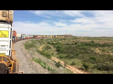 Sweetwater, TX to Belen, NM - Trainhopping West Texas