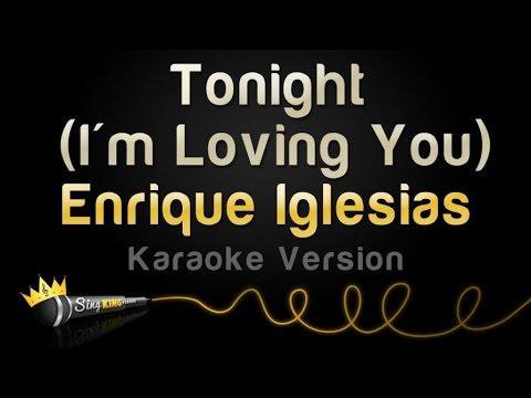 Enrique Iglesias ft. Ludacris - Tonight (I'm Loving You) (Karaoke Version)