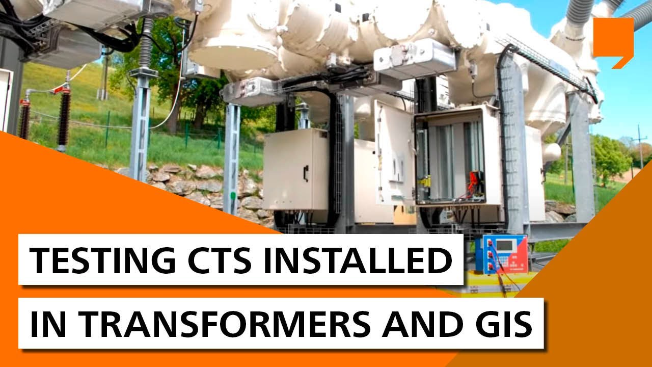 medium resolution of testing current transformers installed in power transformers and gis youtube