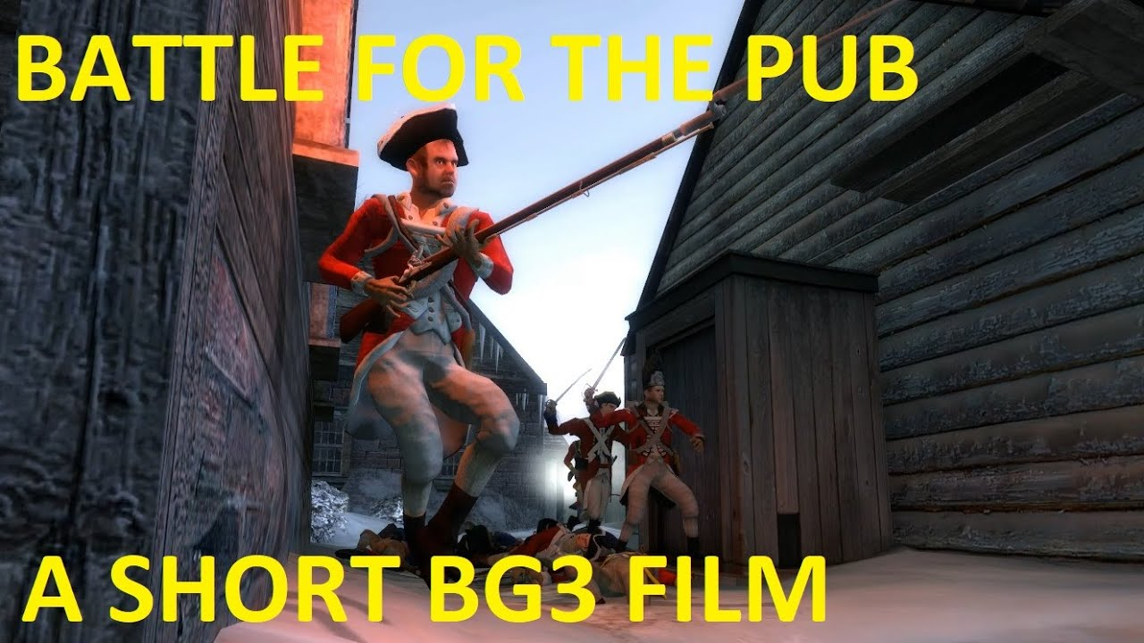 The Battle For The Pub - A Short BG3 Film