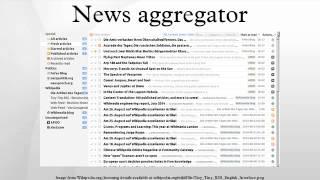 News aggregator Mp3