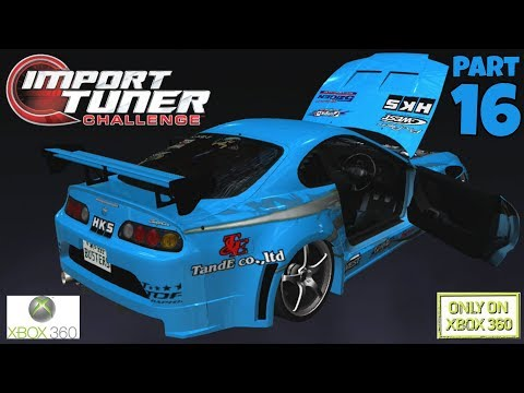 Import Tuner Challenge Part 16 Xbox 360 – The 200mph Car!