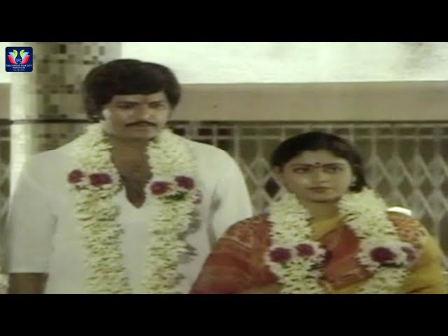 Mohan Babu And Jayasudha Marriage Scene | Gruhapravesam Telugu Movie | TFC Classics