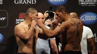 UFC 160: Cain Velasquez vs. Bigfoot Silva 2- Weigh in video (HD)