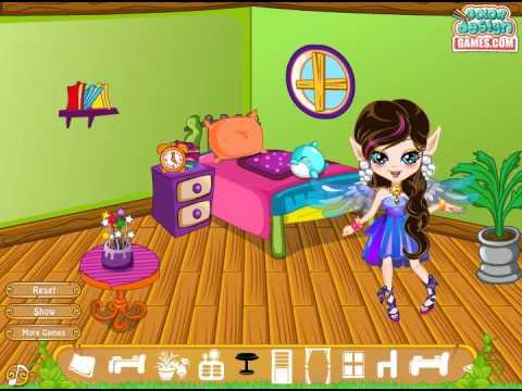 Rainbow Fairy Room Makeover (Переделка комнаты радужной феи) - прохождение игры