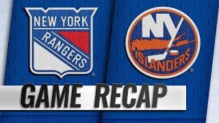 Chytil, Zuccarello lead Rangers past Islanders, 2-1