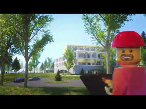 The LEGO Group shares plans for new office building in Billund, Denmark