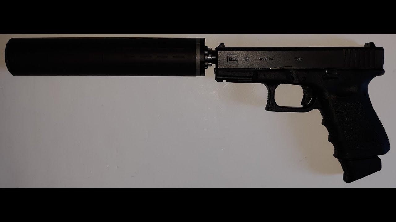 Glock 19 Suppressed | Hybrid 46