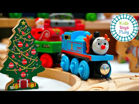 Thomas and Friends Wooden Railway North Pole Track Build from YouTube · Duration:  10 minutes 19 seconds