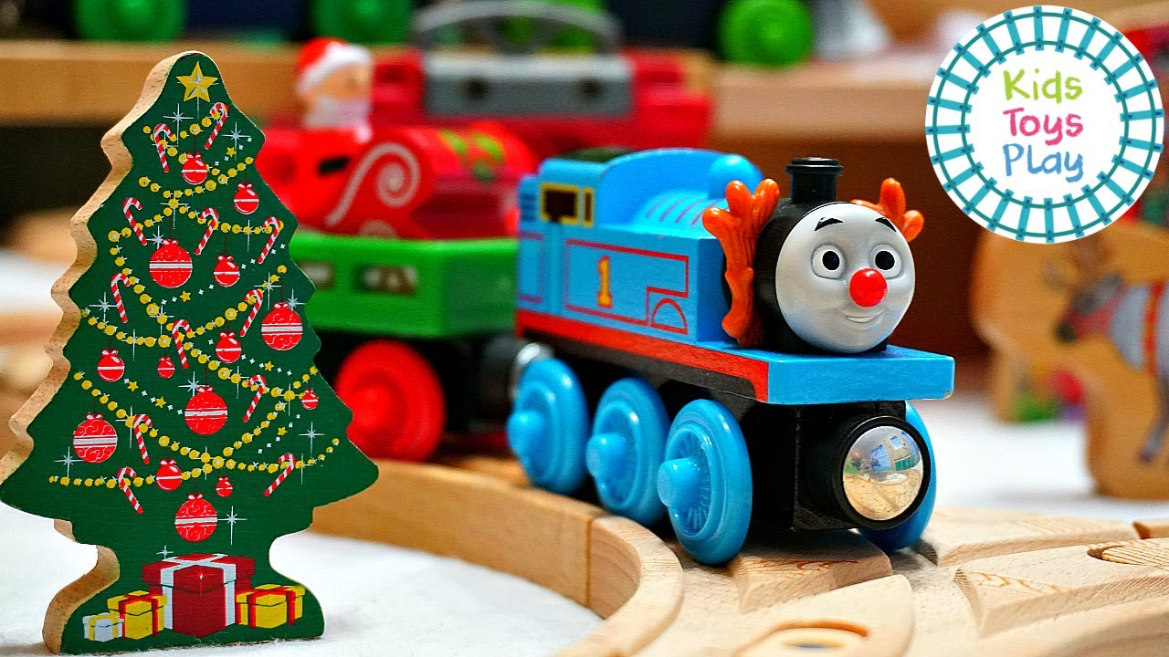Thomas and Friends Wooden Railway North Pole Track Build