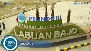 Progress Pembangunan Terminal Multipurpose Labuan Bajo, oleh Pelindo III (Persero)