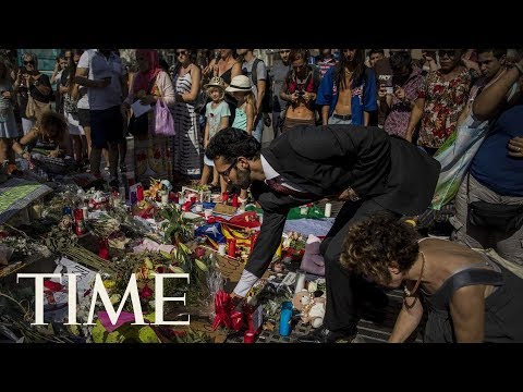 Barcelona Attack: Memorial Service Held For Victims A Week After Attack Occurred | TIME