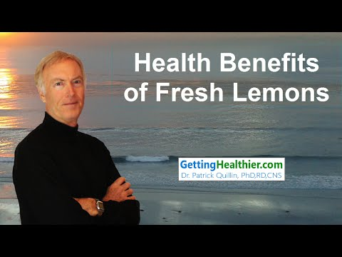 Health Benefits of Fresh Lemons
