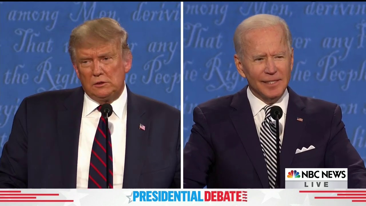 See the Biggest Moments From the First Presidential Debate