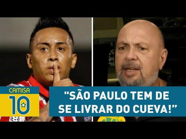 """Narrador desabafa: """"São Paulo tem de SE LIVRAR do CUEVA!"""""""