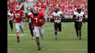 #3 Georgia Highlights Vs. Arkansas State 2019   CFB Week 3   College Football Highlights 2019