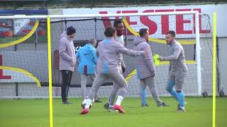 Bilal Baçacıkoğlu ilk idmanına çıktı ITrabzonspor antrenmanından özel görüntüler! | Çift Kale Maç