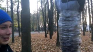Скотчем к дереву| Выдержит ли скотч человека ?| Эксперимент.