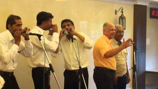 Hai apna dil to aawara - on harmonica