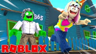 Roblox | Flucht Zombie Opa mit Laura!