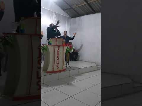Jesus anda sobre o Mar, pregação;  Pastor Jolivan Oliveira.. na ADMS Godofredo Viana MA.