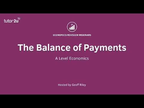 Revision Webinar - Balance of Payments