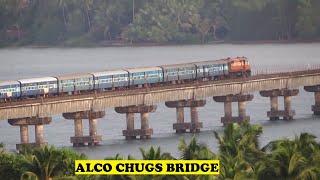 WDM2 Madgaon Mangalore Passenger Sharavathi