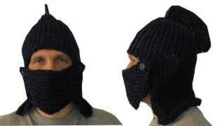 Loom Knit a Knight´s Helmet / Рыцарский Шлем на Луме