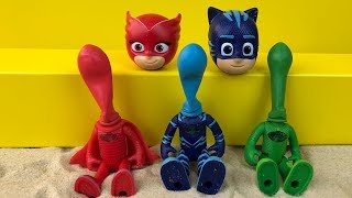 Pj Masks Toys Heads in the Sand