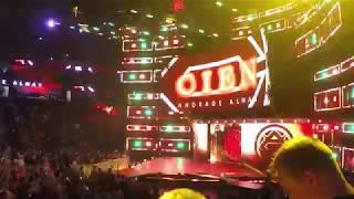 Andrade 'Cien' Almas NXT TakeOver NOLA Entrance (4/7/18)