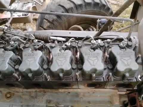 Разборка двигателя Wd615 HOWO