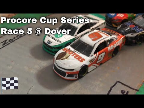 Nascar Stop Motion Procore Cup Series Race 5 Cam Spinner 400
