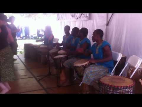 Drum session from West Africa