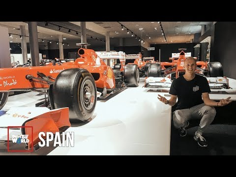 Fernando Alonso's Personal F1 Collection | Eᴘ40: Sᴘᴀɪɴ