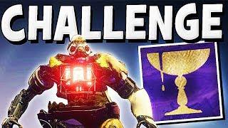 Destiny 2 - CALUS CHALLENGE MODE EASY GUIDE !!