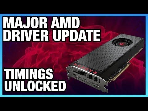 AMD Driver Overhaul & GPU Memory Timing Control (Sort Of)
