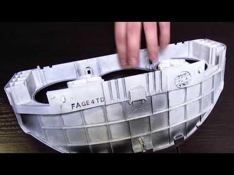 Mazda 626 GF: Как снять панель приборов