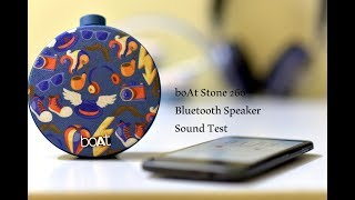 BOAT Stone 260 Bluetooth Speaker Sound Test (Giveaway Soon )