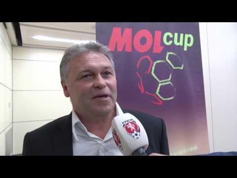Los semifinále MOL Cupu: Zlín na Slavii, Opava v Boleslavi