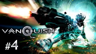 Vanquish PC Gameplay Walkthrough Part 4 - This Place is Falling Apart
