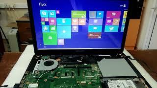 ремонт ноутбука Asus, сам отключается