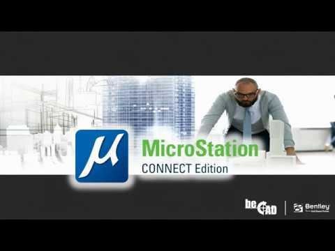 Présentation de MicroStation CONNECT Edition