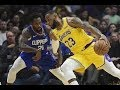 Los Angeles Lakers Vs Los Angeles Clippers NBA Full Highlights (1st February 2019)