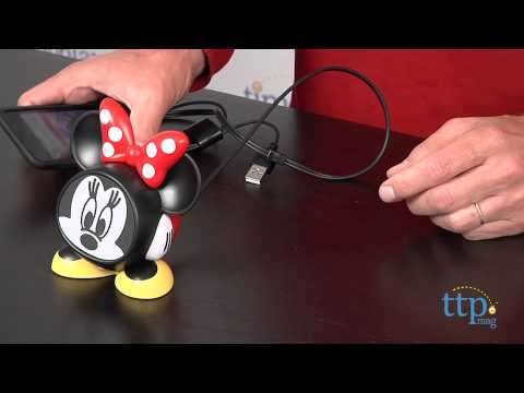 Disney iHome Minnie Mouse Rechargeable Speaker from eKids